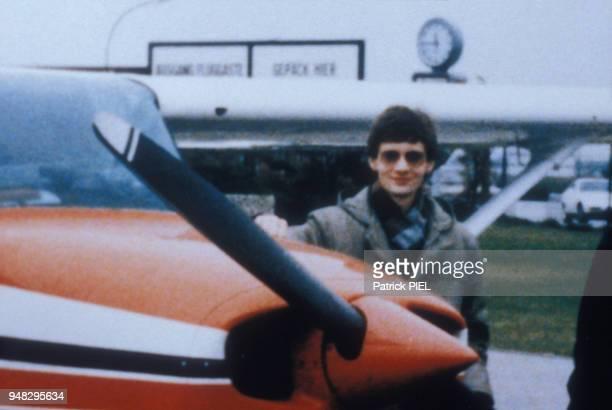Photo d'archive du jeune pilote allemand Mathias Rust qui a réussi l'exploit de poser son petit monomoteur Cessna près de la Place Rouge à Moscou le...