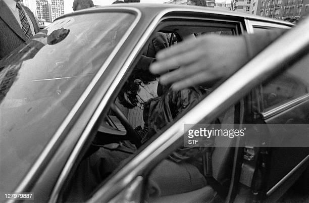 Photo datée du 02 novembre 1979 de l'ennemi public N·1 Jacques Mesrine responsable de plusieurs braquages et de meurtres abattu par la brigade...