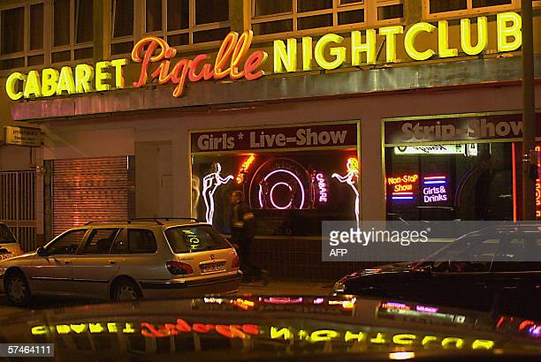 Photo dated 07 February 2001 showing a gogo bar in Frankfurt am Main's red light district AFP PHOTO DDP/MARIO VEDDER GERMANY OUT