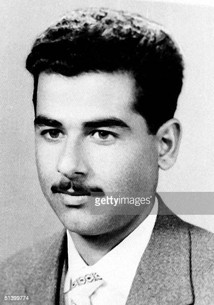 Photo dated 1960 of Iraqi President Saddam Hussein in his hometown of Tikrit Saddam came to power in 1979