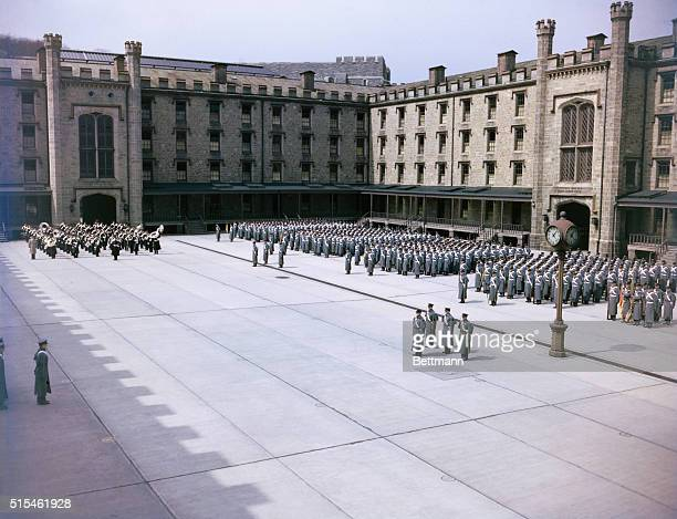 Photo depicts West Point Military Academy in New York
