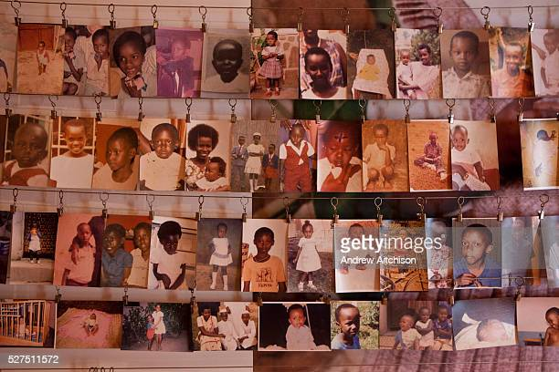 A photo display of some of the victims at the Kigali Memorial Centre for 1994 genocide in Rwanda The centre on is on a site where 250000 genocide...