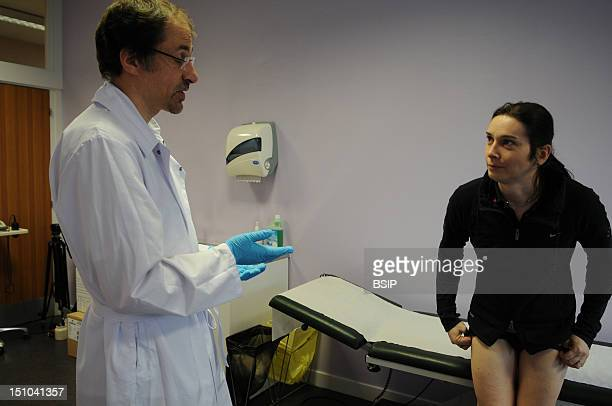 Photo Essay At Henry Gabrielle Hospital In Lyon France Urology Consultation With Dr Nicolas Morel Journel Surgeon Urologist Postoperative Examination...