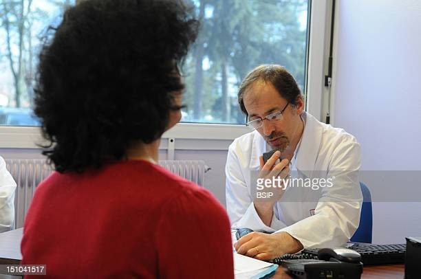 Photo Essay At Henry Gabrielle Hospital In Lyon France Urology Consultation With Dr Nicolas Morel Journel Surgeon Urologist First Consultation Of A...