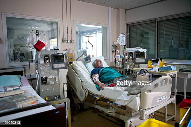 Photo Essay At Laennec Hospital In Creil France Department Of Nephrology Hemodialysis Outpatient Hospital Patient
