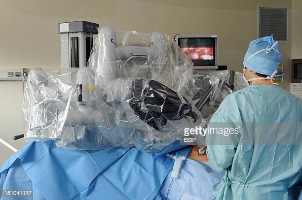 Photo Essay At Lyon Hospital In France Department Of Urology Prostatectomy This Hospital Has A Robotic Surgical System Da Vinci Surgical System Made...