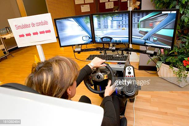 Photo Essay At The Hospital Of Meaux 77 France Seminar Of Prevention For The Staff Of The Hospital Of Meaux About Driving With A High Level Of...