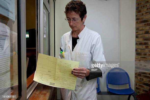Photo Essay At The Hospital Of Meaux Department Of Psychiatry France Medical File Of The Patient At Reception
