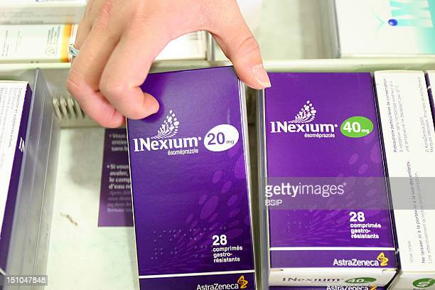 Photo Essay For Press Only Chemist's Shop Nexium An Ulcer Medication Esomeprazole A Proton Pump Inhibitor Used For Treating Gastro Oesophageal Reflux...
