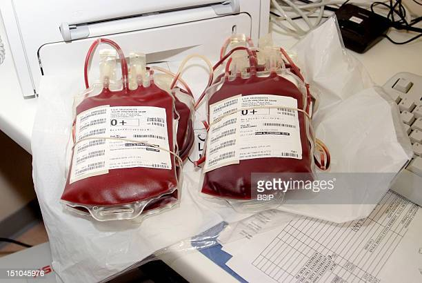 Photo Essay From Hospital Croix Saint Simon Hospital Paris France Orthopedic And Visceral Surgery Room Of Blood Deposit For Transfusions