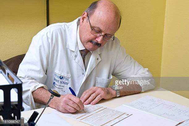 Photo Essay From Hospital Department Of Diabetology Endocrinology Of St Louis Hospital In Paris France Consultation Of Podology Of Dr Acker The...
