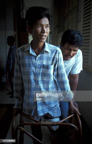 Photo Essay From Hospital Victim Of An Antipersonnel Land Mine Cambodia