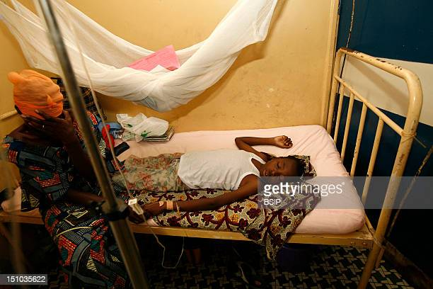 Photo Essay In A Hospital In Congo Sick Child