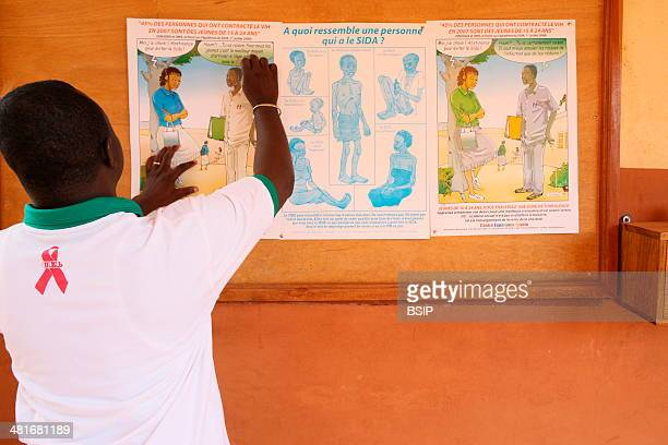 Photo essay in Lome Togo AIDS prevention in Loyola Hope Center