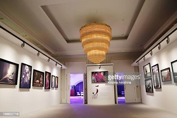 Photo exhibition 'Baku magazine 5th anniversary' in the Four Seasons Hotel Baku>> on November 17 2012 in Baku Azerbaijan