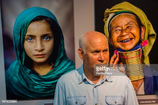 CASTEL OTRANTO ITALY LECCE ITALY Photo Exhibition of Steve McCurry entitled ' Icons' in the Aragonese Castle of Otranto with the author's presence...