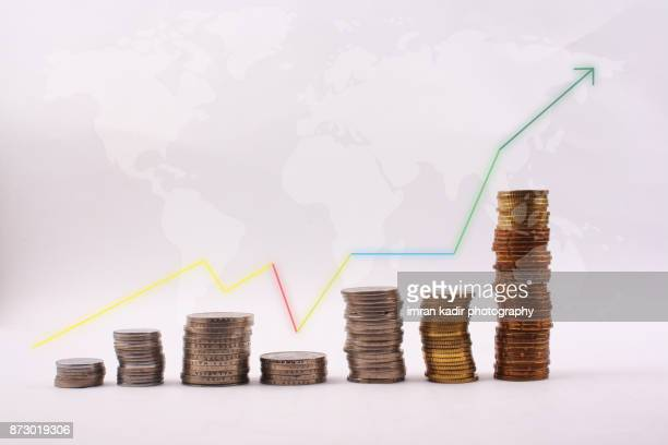 photo for economy success - inflation stock photos and pictures