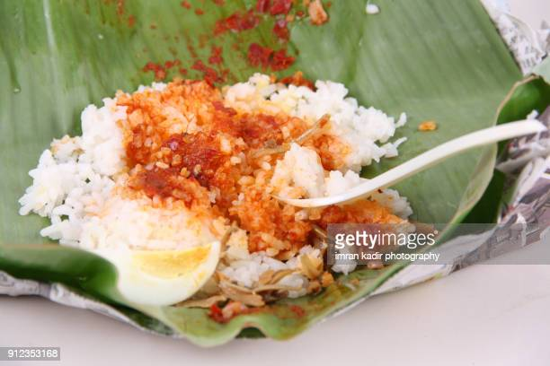 Photo for traditional food, Nasi lemak from Malaysia.