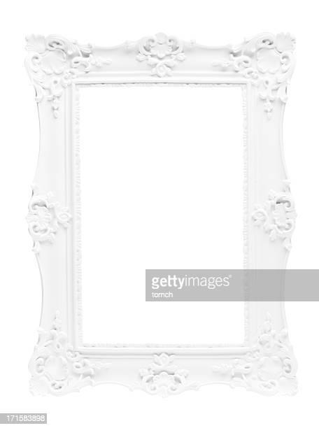 Bilderrahmen auf weißem Hintergrund