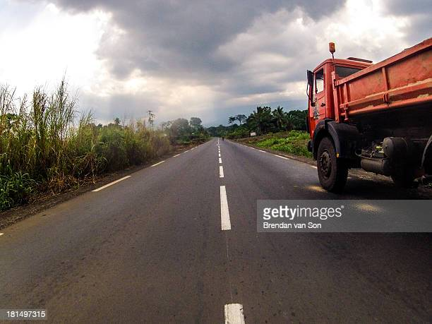 Photo from the drive between Mamfe and Buea, Cameroon by travel photographer Brendan van Son.