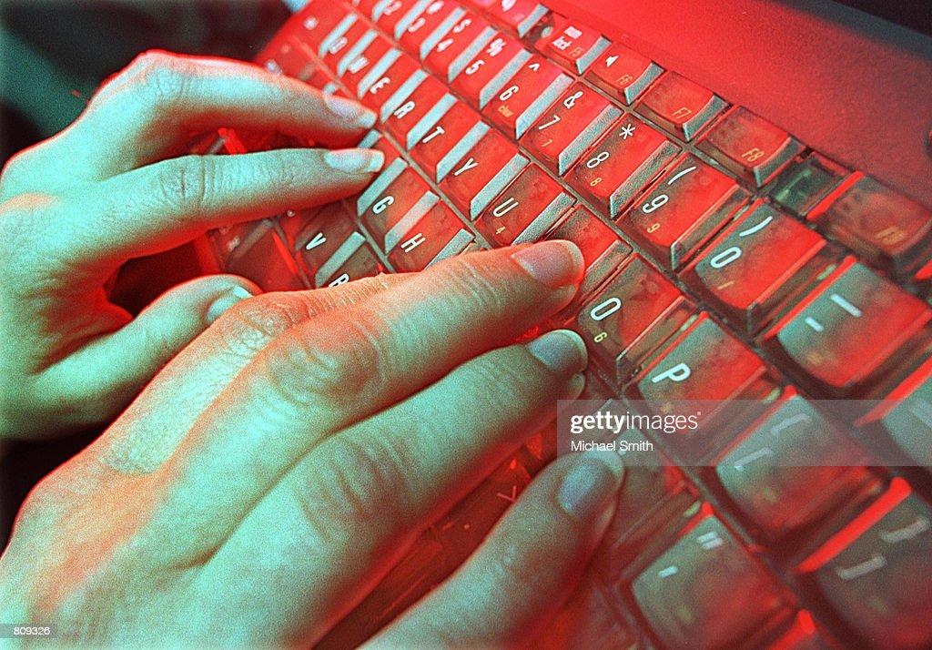 Typing Can Be Hazardous : News Photo
