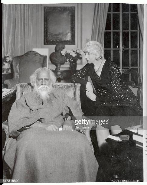 Photo is that of Ruth St Denis and Rabindranath Tagore
