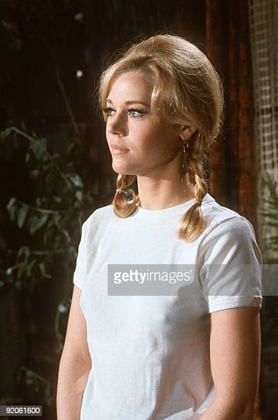 Photo non dated of American actress Jane Fonda Tall Story in 1960 directed by Joshua Logan marked the beginning of a highly successful and respected...