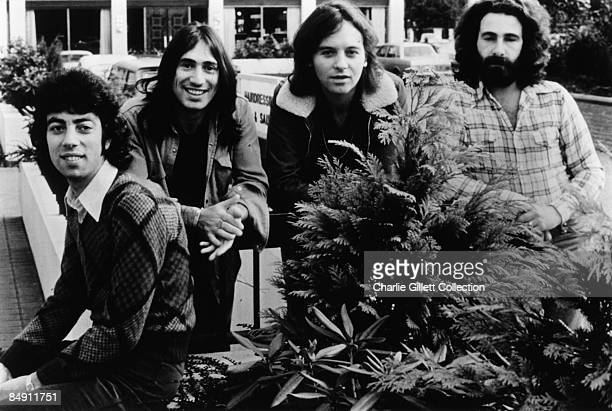 Photo of 10CC BW posed