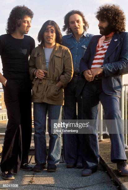 Photo of 10CC L to R Graham Gouldman Lol Creme Eric Stewart Kevin Godley