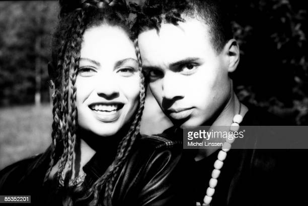 Photo of 2 UNLIMITED Posed portrait of Anita Dels and Ray Slijngaard