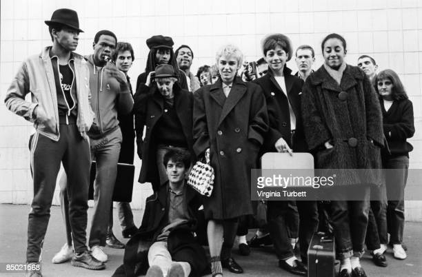 Photo of 2-TONE 2 TOUR; Bodysnatchers and others posed on 2-Tone 2 Tour