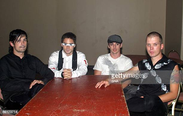 Photo of 30 SECONDS TO MARS Jared Leto and his band 30 Seconds To Mars perform at Hammerstein Ballroom in New York City on August 30 2005 Photos by...