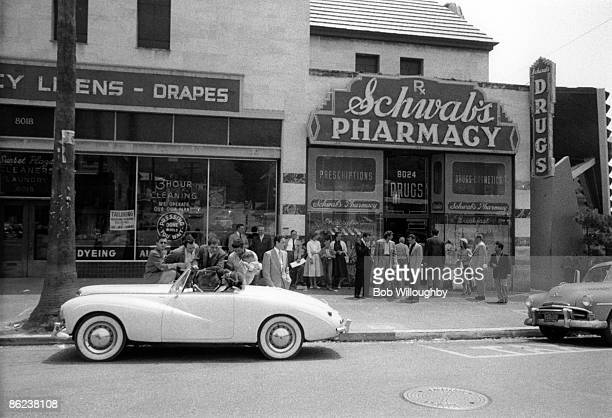 S PHARMACY Photo of 50's STYLE and HOLLYWOOD and SUNSET BOULEVARD