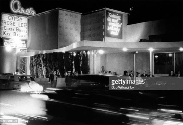 S Photo of 50's STYLE and SUNSET STRIP and SUNSET BOULEVARD and HOLLYWOOD
