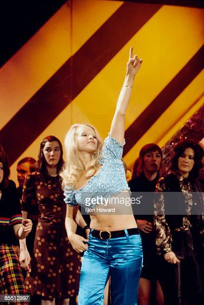 Photo of 70'S STYLE and PAN'S PEOPLE Barbara Babs Lord performing live on Top Of The Pops