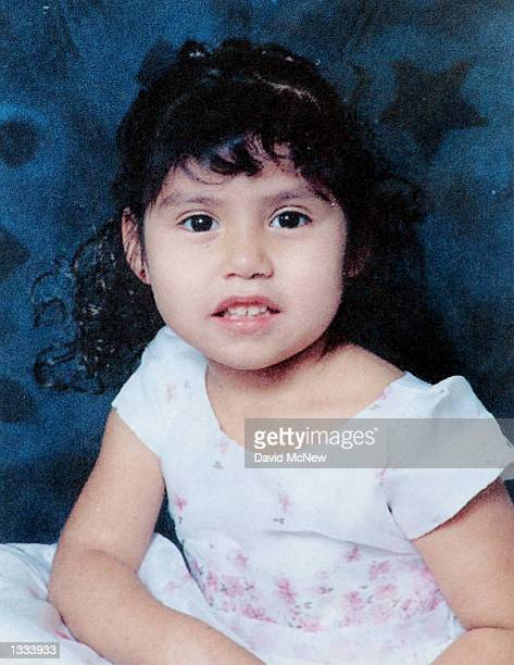 Photo of a missing child flyer shows 4-year-old Jessica Cortez, who disappeared on the previous evening at the inner city Echo Park, on August 12,...