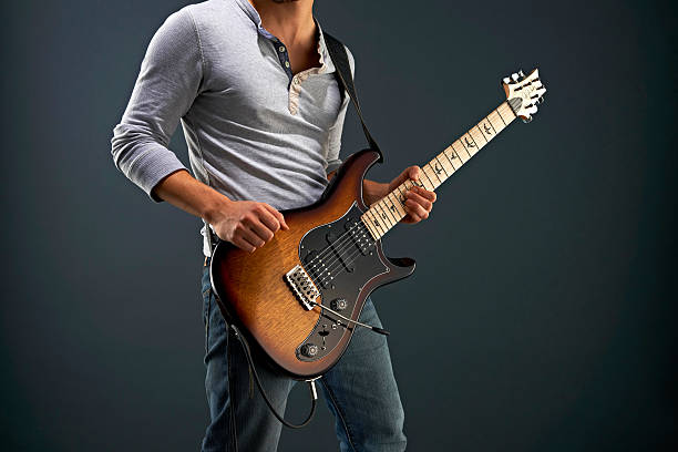 Guitarist With A PRS Guitar