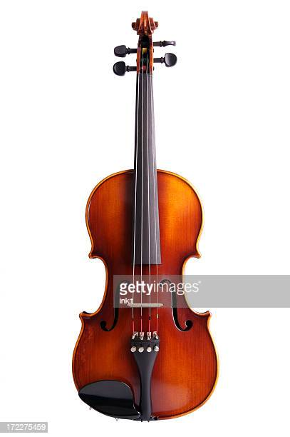 Photo of a violin without a bow