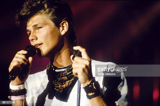 FESTIVAL Photo of AHA and Morten HARKET Morten Harket performing on stage