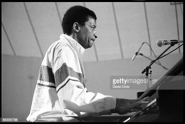FESTIVAL Photo of Abdullah IBRAHIM and Dollar BRAND South African pianist Abdullah Ibrahim aka Dollar Brand performing on stage profile