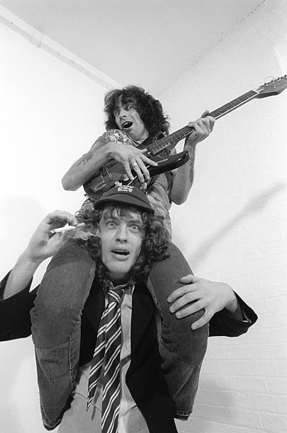 Photo of AC DC and Bon SCOTT and AC/DC and Angus YOUNG