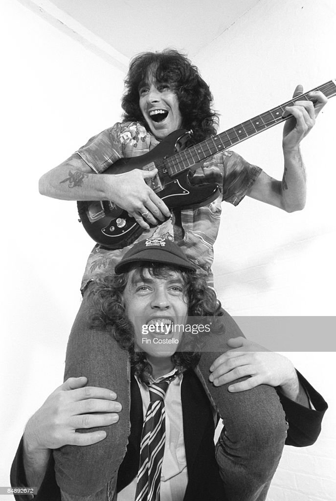 Photo of AC DC and Bon SCOTT and AC/DC and Angus YOUNG : News Photo