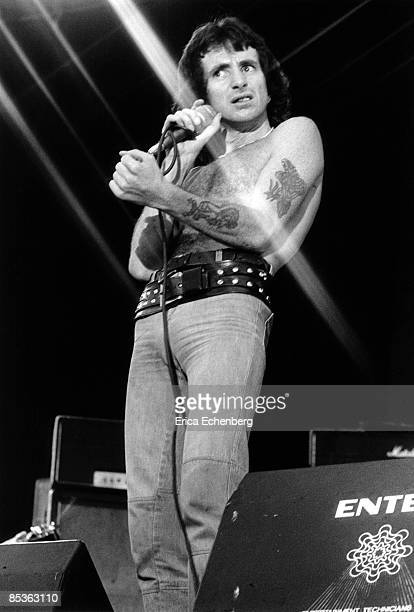 FESTIVAL Photo of AC DC and Bon SCOTT and AC/DC Bon Scott performing live onstage