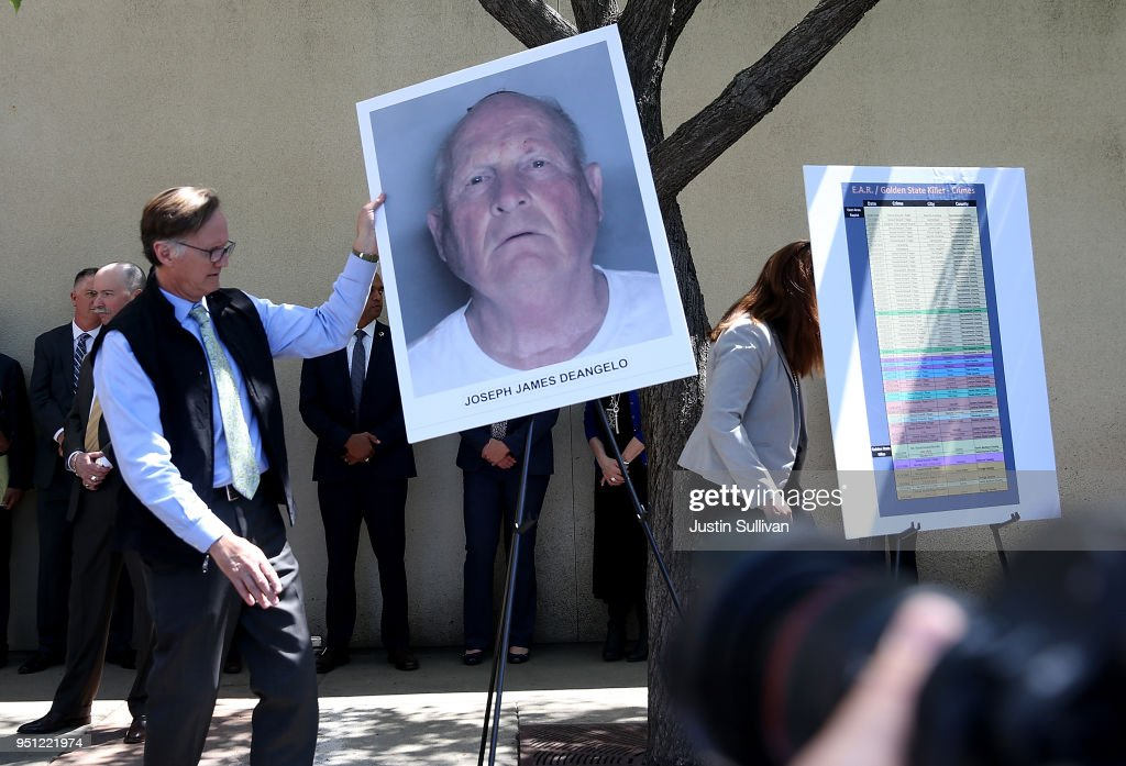Sacaramento DA Makes Major Announcement On Golden State Killer Case : News Photo