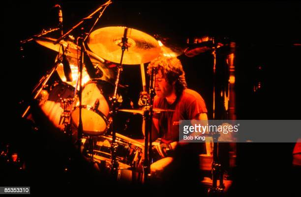 Photo of AC/DC and AC DC and Simon WRIGHT Drummer Simon Wright performing on stage