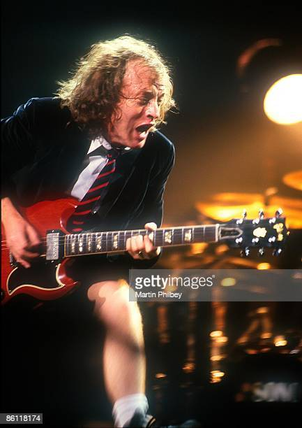 PARK Photo of AC/DC Angus Young AC/DC Melbourne Park Melbourne Australia 1996