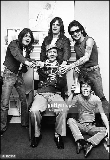 Photo of AC/DC Radio Luxenborg with DJ 1976