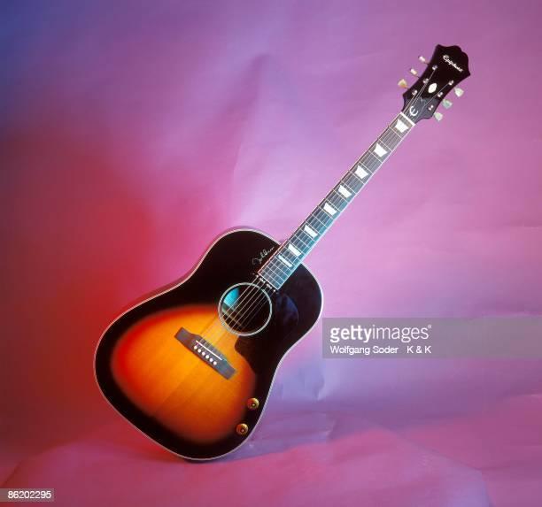 Photo of ACOUSTIC GUITAR and EPIPHONE GUITARS John Lennon acoustic model