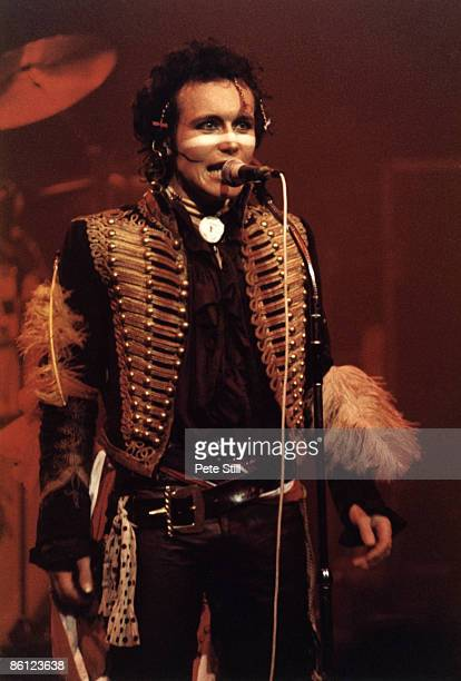THEATRE Photo of Adam ANT and ADAM THE ANTS Adam Ant performing on stage