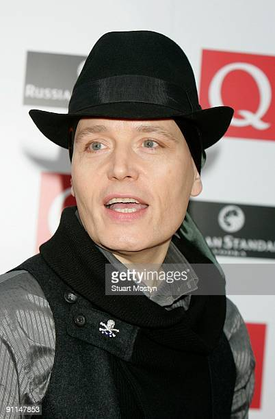 AWARDS Photo of Adam ANT Portrait of Adam Ant arriving at the Grosvenor House Hotel